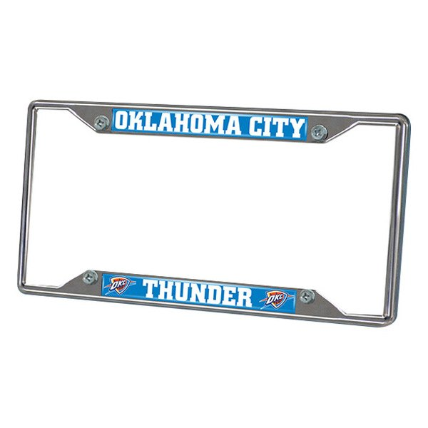 FanMats® - Frame License Plate (Sports, NBA, Oklahoma City Thunder)