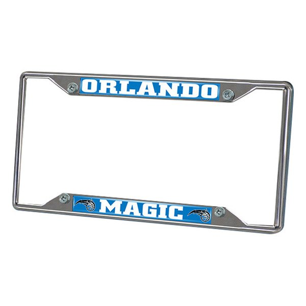 FanMats® - Frame License Plate (Sports, NBA, Orlando Magic)