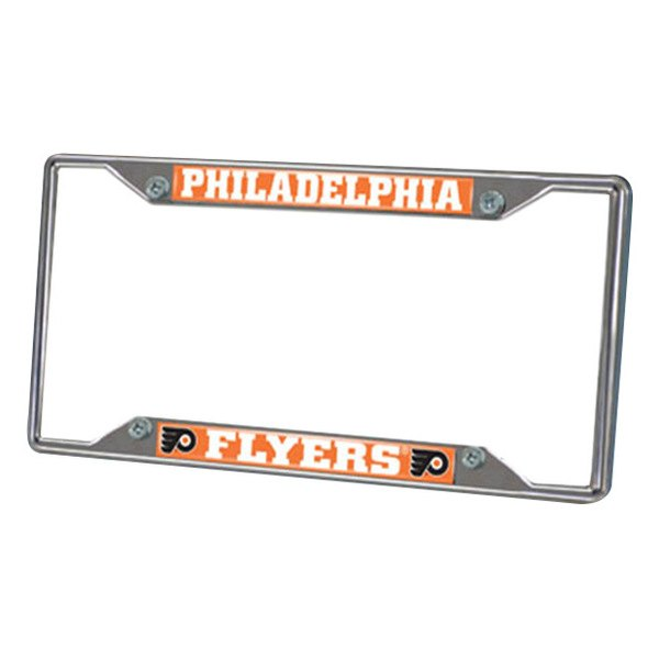 FanMats® - Frame License Plate (Sports, NHL, Philadelphia Flyers)
