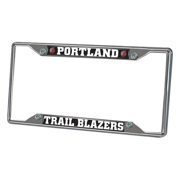 FanMats® - Frame License Plate (Sports, NBA, Portland Trail Blazers)