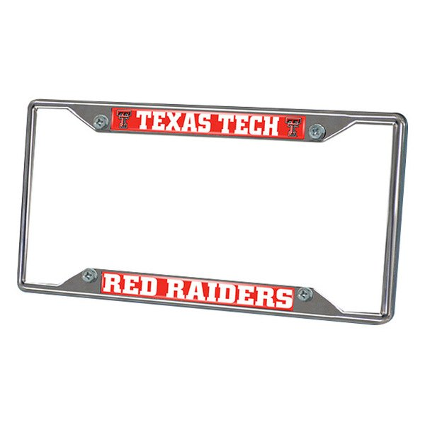 FanMats® - Frame License Plate (College, Texas, Texas Tech University)