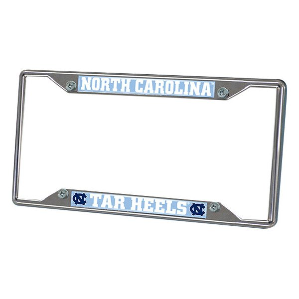 FanMats® - Frame License Plate (College, North Carolina, UNC University of North Carolina - Chapel Hill)