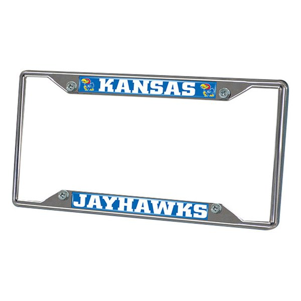 FanMats® - Frame License Plate (College, Kansas, University of Kansas)