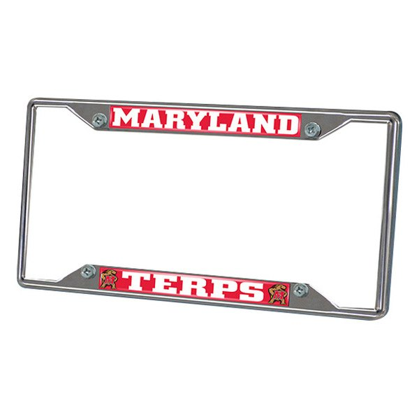 FanMats® - Frame License Plate (College, Maryland, University of Maryland)