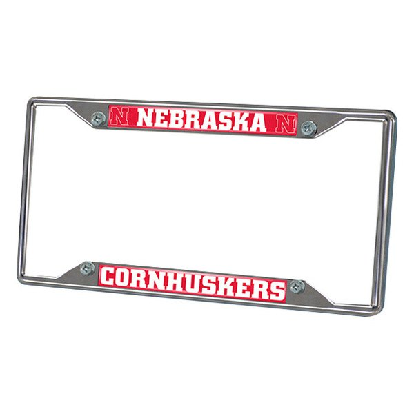 FanMats® - Frame License Plate (College, Nebraska, University of Nebraska)