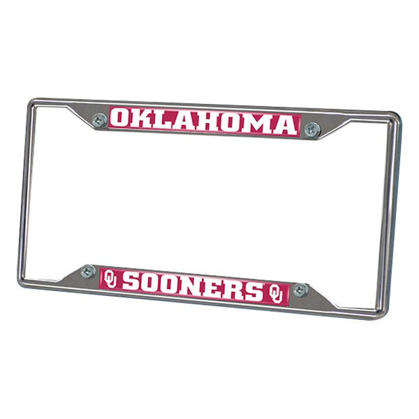 FanMats® - Frame License Plate (College, Oklahoma, University of Oklahoma)