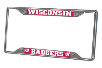 FanMats® - Frame License Plate (College, Wisconsin, University of Wisconsin)