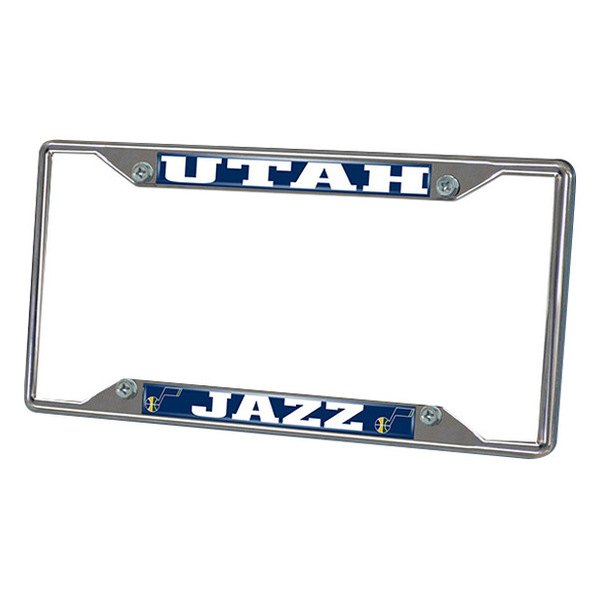 FanMats® - Frame License Plate (Sports, NBA, Utah Jazz)