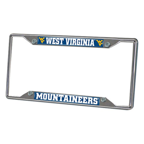 FanMats® - Frame License Plate (College, West Virginia, West Virginia University)