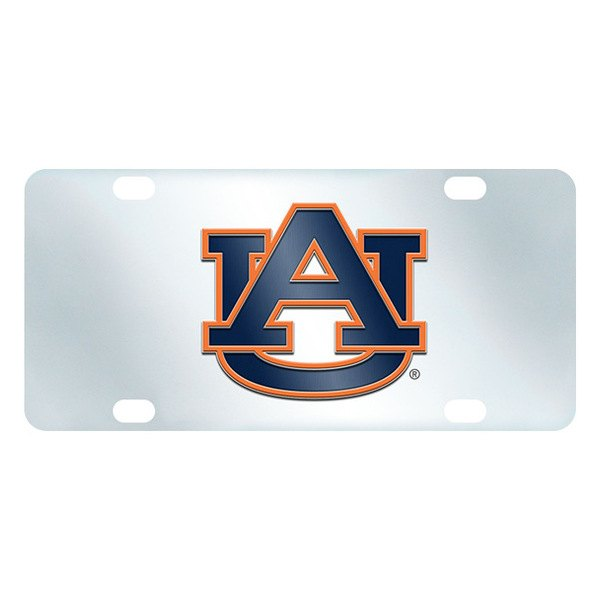 FanMats® - Inlaid License Plate (College, Alabama, Auburn University)