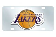 FanMats® - Los Angeles Lakers Logo on License Plate Inlaid