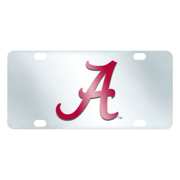 FanMats® - Inlaid License Plate (College, Alabama, University of Alabama)