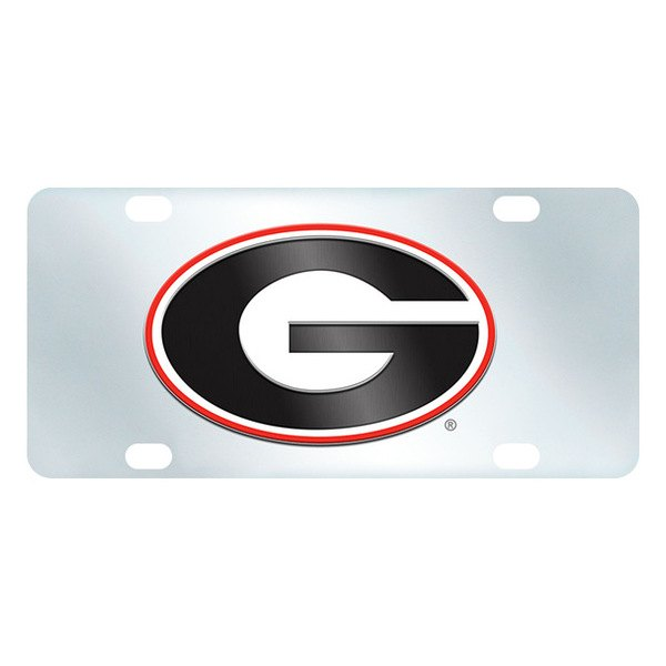FanMats® - Inlaid License Plate (College, Georgia, University of Georgia)