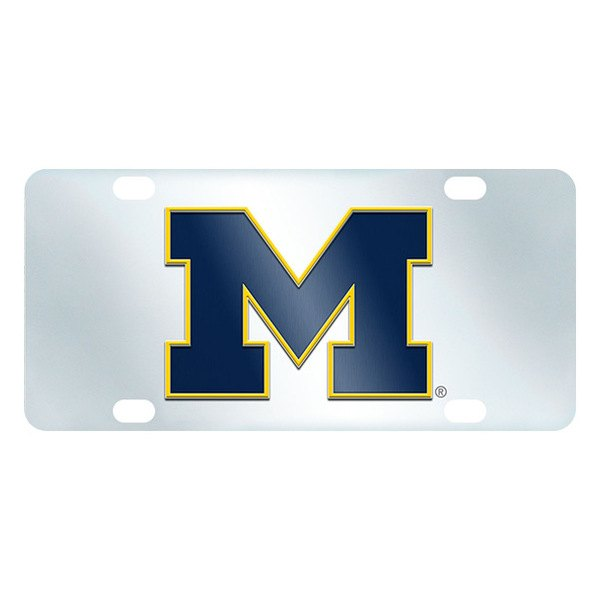 FanMats® - Inlaid License Plate (College, Michigan, University of Michigan)