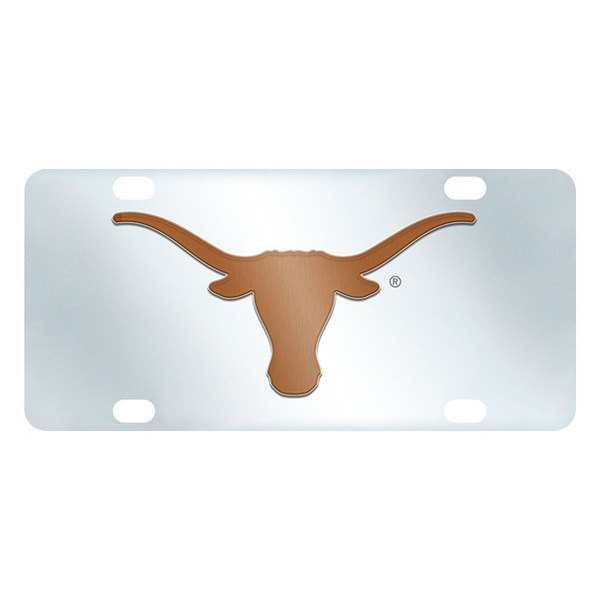 FanMats® - Inlaid License Plate (College, Texas, University of Texas)