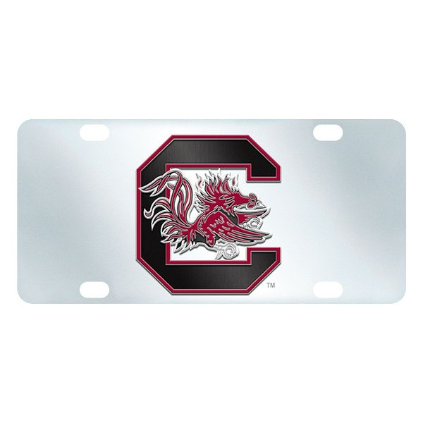 FanMats® - Inlaid License Plate (College, South Carolina, University of South Carolina)