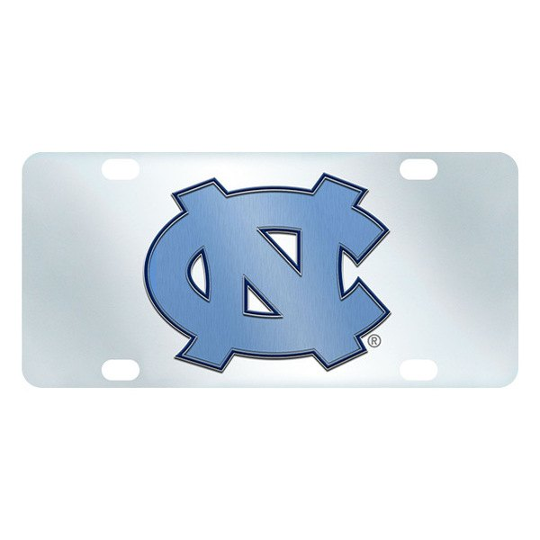 FanMats® - Inlaid License Plate (College, North Carolina, UNC University of North Carolina - Chapel Hill)