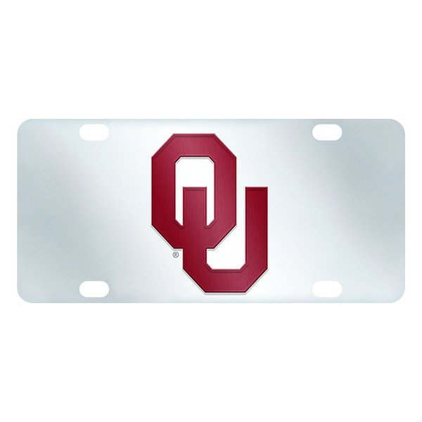 FanMats® - Inlaid License Plate (College, Oklahoma, University of Oklahoma)