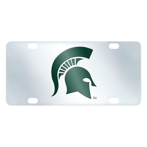 FanMats® - Inlaid License Plate (College, Michigan, Michigan State University)