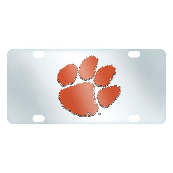 FanMats® - Inlaid License Plate (College, South Carolina, Clemson University)