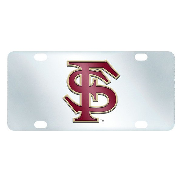 FanMats® - Inlaid License Plate (College, Florida, Florida State University)