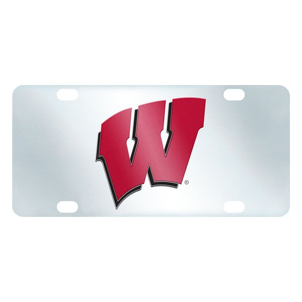 FanMats® - Inlaid License Plate (College, Wisconsin, University of Wisconsin)