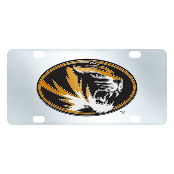 FanMats® - Inlaid License Plate (College, Missouri, University of Missouri)