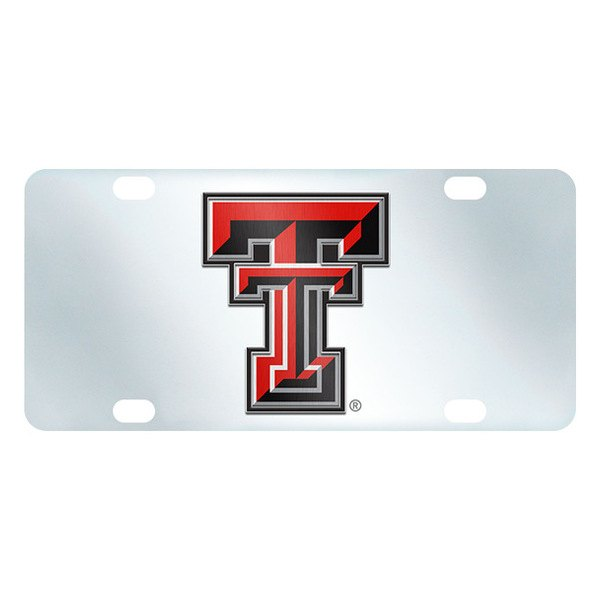 FanMats® - Inlaid License Plate (College, Texas, Texas Tech University)