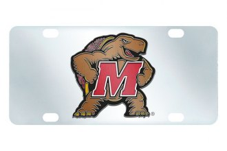 FanMats® - Inlaid License Plate (College, Maryland, University of Maryland)