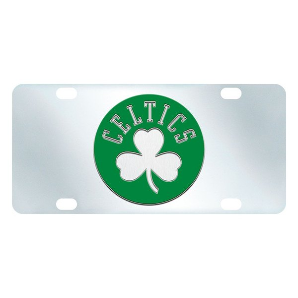 FanMats® - Inlaid License Plate (Sports, NBA, Boston Celtics)