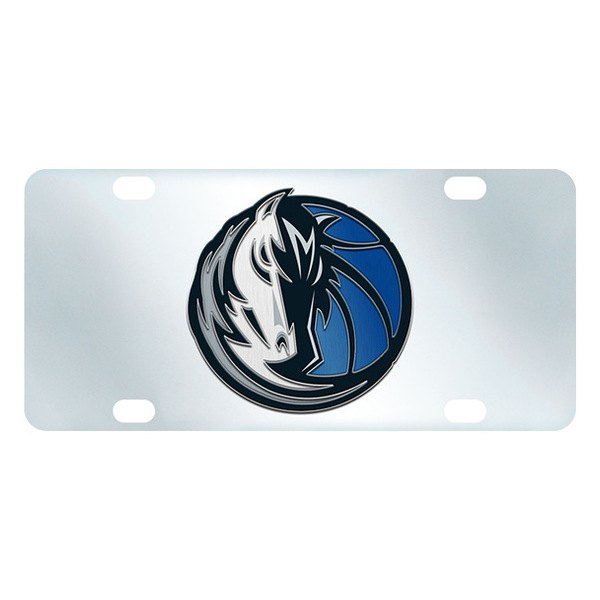 FanMats® - Inlaid License Plate (Sports, NBA, Dallas Mavericks)