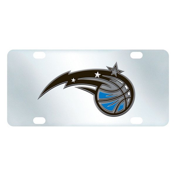 FanMats® - Inlaid License Plate (Sports, NBA, Orlando Magic)