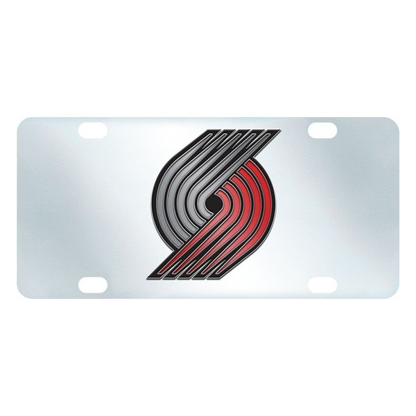 FanMats® - Inlaid License Plate (Sports, NBA, Portland Trail Blazers)