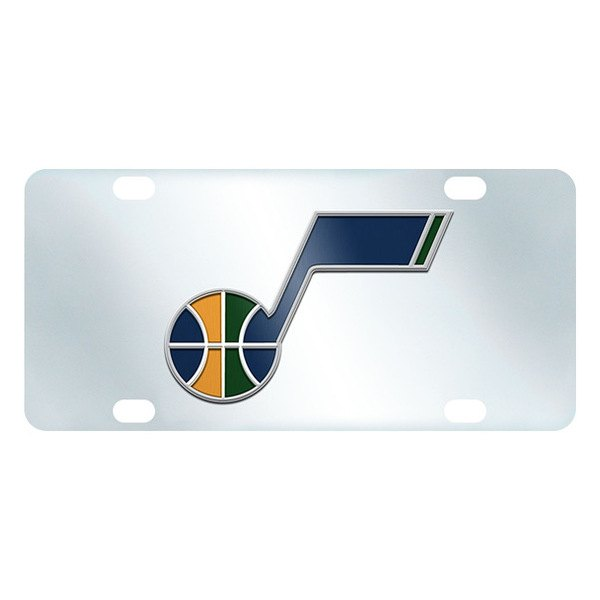 FanMats® - Inlaid License Plate (Sports, NBA, Utah Jazz)