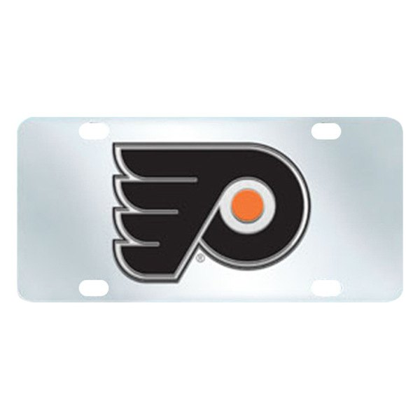 FanMats® - Inlaid License Plate (Sports, NHL, Philadelphia Flyers)