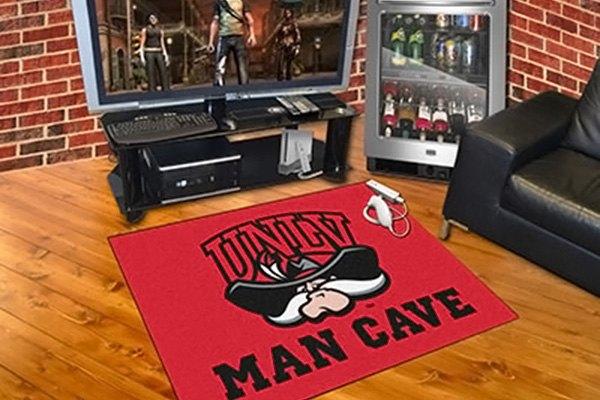 Man Cave Las Vegas : Fanmats university of nevada las vegas logo on