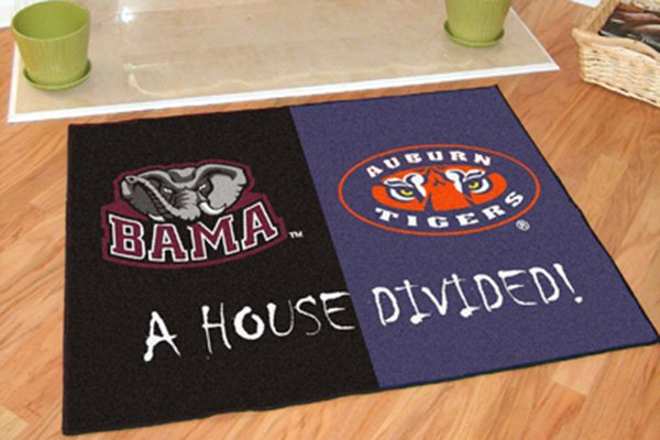 Fanmats 174 College House Divided Floor Mats