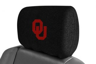 FanMats® 12590 - University of Oklahoma Logo on Head Rest Cover