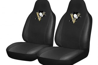 fanmats 15150 pittsburgh penguins logo on seat cover. Black Bedroom Furniture Sets. Home Design Ideas
