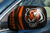 FanMats® - Universal Mirror Covers (Sports, NFL, Cincinnati Bengals)