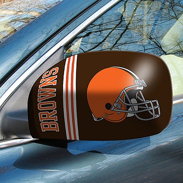 FanMats® - Universal Mirror Covers (Sports, NFL, Cleveland Browns)
