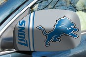 FanMats® - Universal Mirror Covers (Sports, NFL, Detroit Lions)