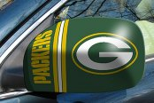 FanMats® Green Bay Packers - Uniform Inspired on Small Mirror Cover