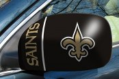FanMats® - Universal Mirror Covers (Sports, NFL, New Orleans Saints)