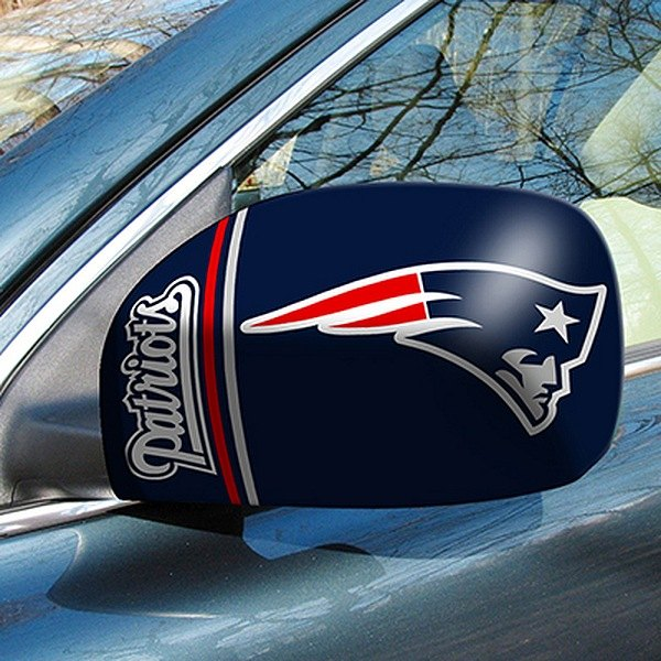 FanMats® - Universal Mirror Covers (Sports, NFL, New England Patriots)