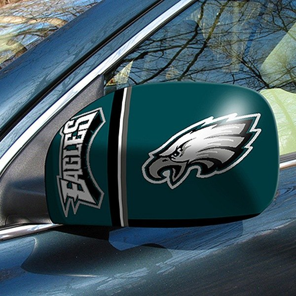 FanMats® - Universal Mirror Covers (Sports, NFL, Philadelphia Eagles)