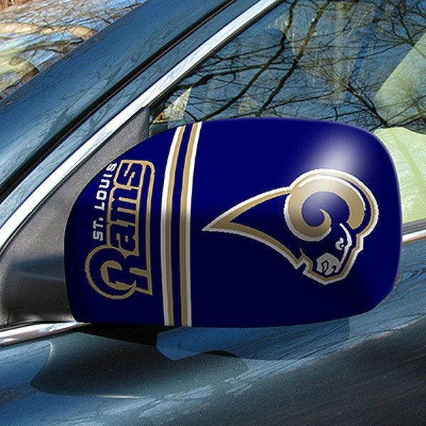 FanMats® - Universal Mirror Covers (Sports, NFL, St Louis Rams)