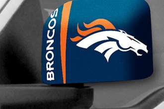 FanMats® Denver Broncos - Uniform Inspired on Large Mirror Cover