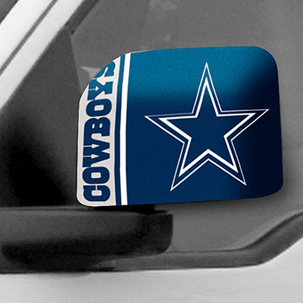 FanMats® - Universal Mirror Covers (Sports, NFL, Dallas Cowboys)