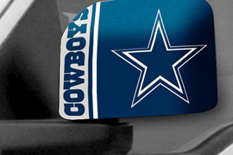 FanMats® 11984 - Dallas Cowboys Logo on Mirror Covers